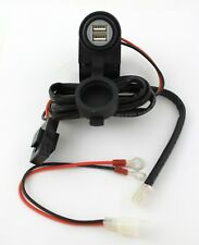 12 V fuente de alimentación Universal Kit Doble Usb Socket Para Motocicleta Moto Atv Quad