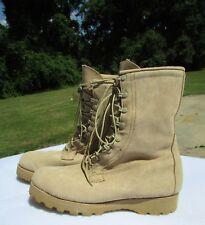 Gore-Tex Combat Boots Vibram Sole TAN 11 1/2 Reg- Intermediate Cold/Wet