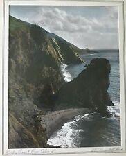 Photograph by W.R. MacAskill 1890-1956 Titled Rocky Coast Cape Breton N.S.