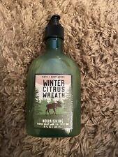 Bath & Body Works Winter Citrus Wreath Nourishing Hand Soap w/Tea Tree Oil-New