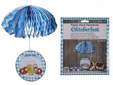 Oktoberfest Deko Fallschirm Papierdeko Dekoration Partydekoration 30 cm NEU