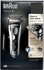 BRAUN 9297CC Series 9 TITANIUM Wet/Dry Mens Cordless Electric Shaver NEW +WTY