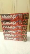 6 x 140g Close Up Deep Action Toothpaste Red Hot