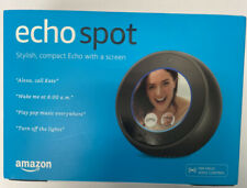 Amazon Echo Spot w/ A Screen Alexa Voice Service Bluetooth WIFI - Black