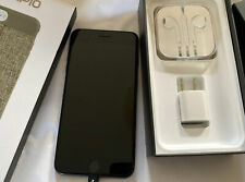 Unlocked iPhone 7 Plus 256 Gb Jet Black w/Box, New Accessories, Pristine!