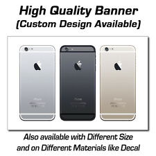 3ft x 2ft Three iPhone 6 Backs  Sign - Popup or Decal