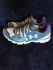 Under Armour Charger RC Men's Running Shoes, Size 10, Blue/Grey, EUC