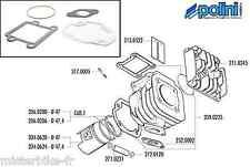 Pochette Joints Haut-moteur 70cc Polini Alu  209.0225 MBK Booster Yamaha Bws 50