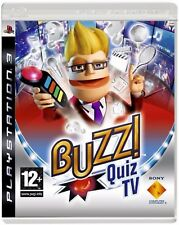 BUZZ QUIZ TV SOLUS PS3 (BUZZERS NOT INCLUDED) PlayStation 3 UK Rele New Sealed
