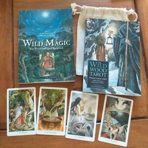 The Wildwood Tarot  Deck Of 78 Cards & Large Guidebook & Wild Magic Workbook