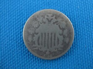 1868 AG Shield Nickel