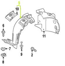 Mercedes - Benz GL OEM Fender Liner Splash Guard 1668802705 Front Right GENUINE