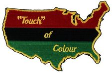 A Touch Of Color US Africa Rasta Colors 4 inch Patch PPMK1009 F3D5T