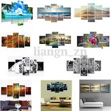 3/5 PCS Modern Landscape Animals Prints Canvas Art Painting Home Wall Decor AU