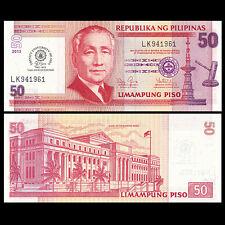 Philippines 50 Piso, 2013, P-216, Commemorative Trinity University TUA, UNC