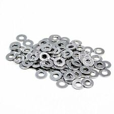 US Stock 100pcs M3 3mm 304 Stainless Steel Metric Flat Washer Washers
