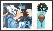 United States 1985 Aug 6 space Maxi Card Shuttle Challenger STS-51-F landing