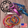 30-52T Crankset Crank 104mm Narrow Wide Single MTB Bike Chainring Sprocket Chain