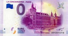 75001 La Conciergerie, 2019, Billet 0 € Souvenir