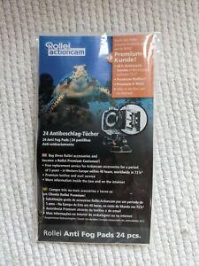Rollei Anti Beschlag Tücher, Reinigungstücher 24 St. für Actioncam - Gehäuse