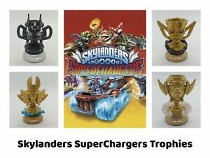 SKYLANDERS SUPERCHARGERS TROPHIES - World Expansions - Complete Your Collection