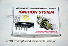 BSA Triumph Twin elektr. Zündung Boyer mit Kennlinie ignition unit Micro Digital