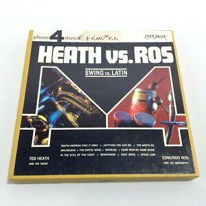 TED HEATH & EDMUNDO ROS Heath vs. Ros SWING vs. LATIN Phase 4 Reel To Reel Tape