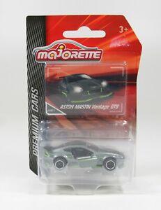 Aston Martin Vantage GT8 grau,  Majorette 212053052  1/64