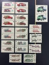 Russia Soviet Union MNH Stamp Lot Fire Trucks Cars Automobiles 1985 1986