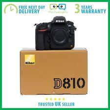 NUOVO Nikon D810 36.3MP dslr solo corpo-più lingue - 3 anni di garanzia
