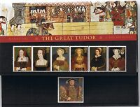 GB Presentation Pack 274 1997 The Great Tudor + Wives HENRY VIII