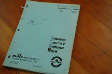 Welder Manuals & Books for Miller for sale | eBay