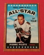 1966 Topps #123 Pierre Pilote