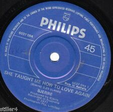 BJERRE She Taught Me How To Love Again *AUSTRALIA PHILIPS SINGLE 1977*
