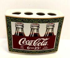 Coca Cola Ceramic Toothbrush Holder