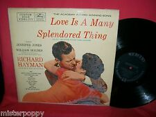 RICHARD HAYMAN Love is a many splendored thing OST LP 1956 USA EX+