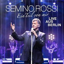 SEMINO ROSSI - EIN TEIL VON MIR (LIVE AUS BERLIN)  2 CD NEW+