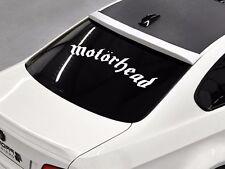 Motorhead band Rock metal music rear window hood body logo Stickers Decals