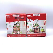 NEW CREATOLOGY 3D Christmas Gingerbread house & Advent Tower Foam