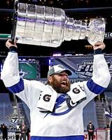 """Pat Maroon Tampa Bay Lightning Unsigned 2020 Stanley Cup Champs 8"""" x 10"""" Photo"""