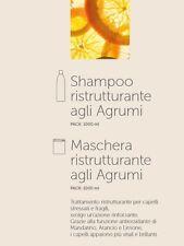 Shampoo 1litro Maschera 1kg Cocco Agrumi Miele Sublime Professionale