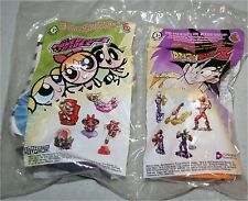 POWER PUFF GIRLS LASER GAZER BUTTERCUP & DRAGONBALL Z PICCOLO NEW IN PACKAGE
