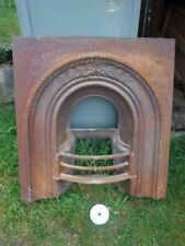 Iron/Cast iron Victorian Antique Fireplaces