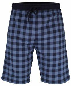 TOM TAILOR Bermuda kurze Schlafanzughose Herren Nachtwäsche kariert Taschen neu