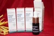 BIOSSANCE SQUALANE + VITAMIN C ROSE OIL BRIGHTENS 4 SAMPLES = 16 ML AUTHENTIC