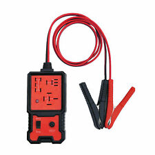 12V Electronic Automotive Relay Tester For Cars Auto Battery Checker Tool Red
