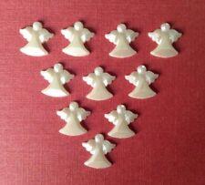 X10-Flatback Christmas Angels-Craft-scrapbooking-Fabrication Carte