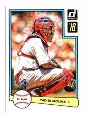 Yadier Molina 2016 Panini Donruss, 1982 Design, Baseball Card