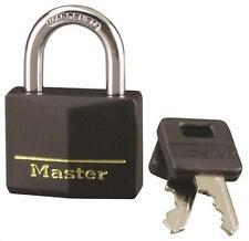 "New Master Lock 141D Vinyl Coated Keyed Padlock 1/4"" X 7/8"" 6638233"