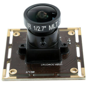 1.3MP Low Light  Webcam Monochrome USB Camera Module w/ 170 Degree Fisheye Lens